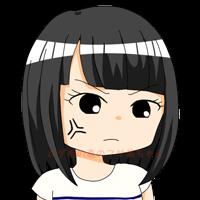 フサ美 怒り顔+