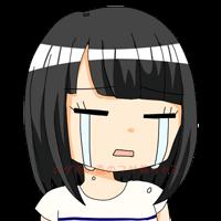 フサ美 泣き顔